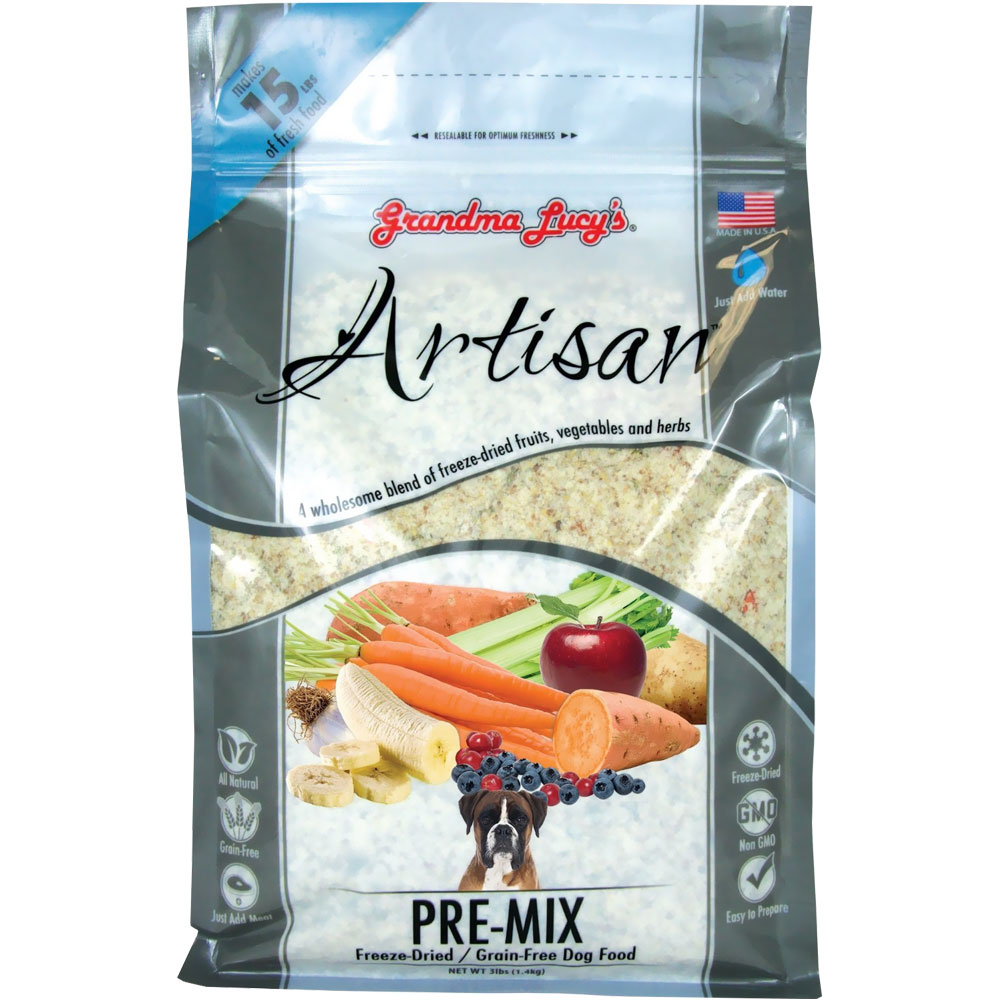 Grandma Lucy's Artisan Pre-Mix Dog Food (3 lb)