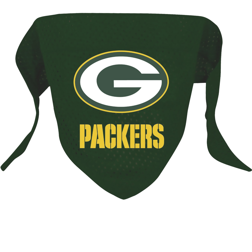 Green Bay Packers Dog Bandanas