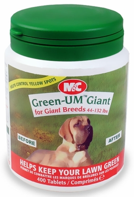 Green-UM Giant for Giant Breeds 44-132lbs (400 tablets)
