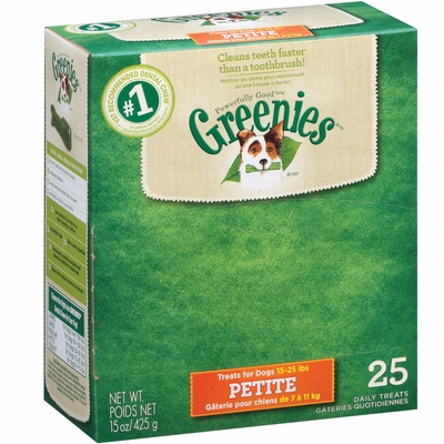 Greenies - BOX PETITE (25 Bones)