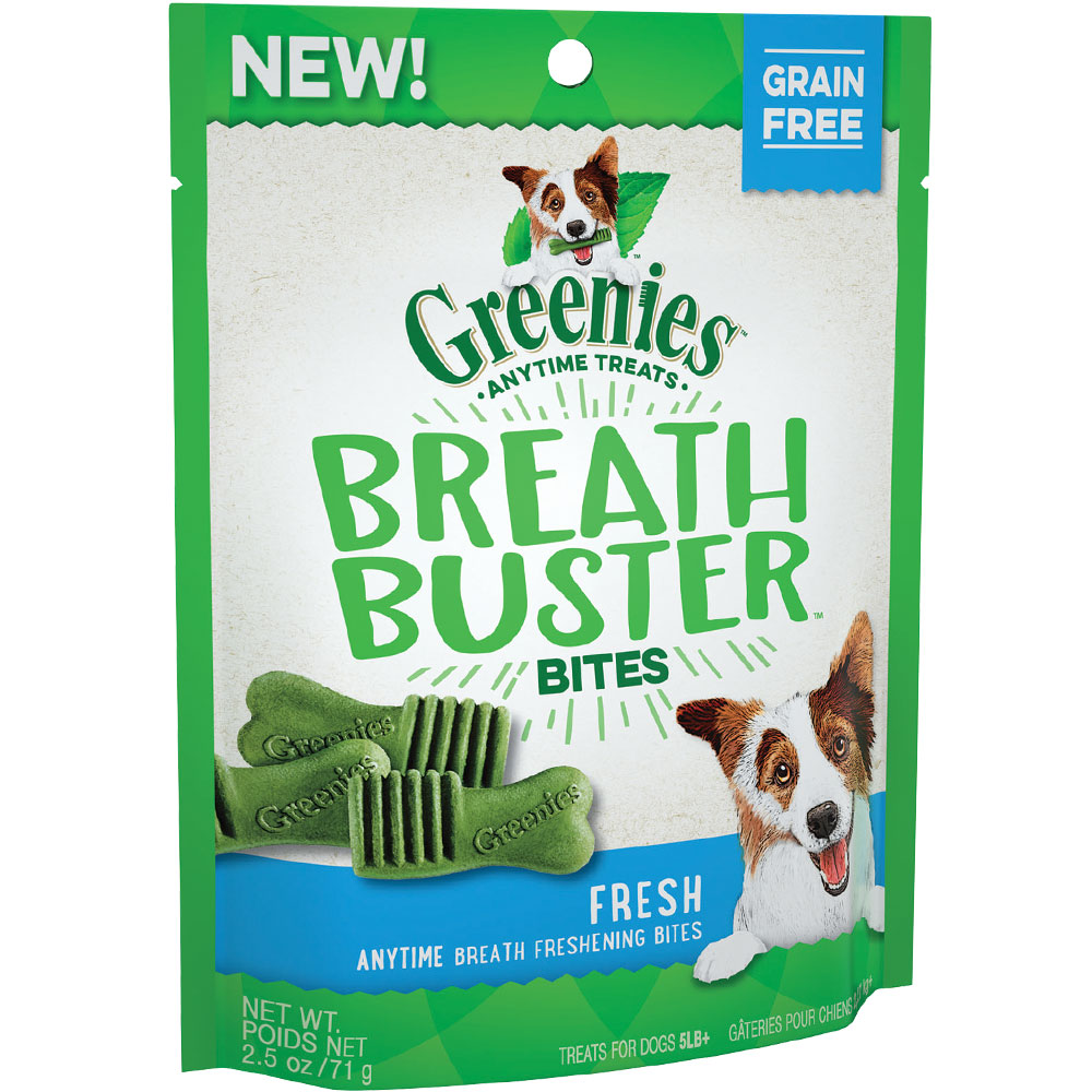 Greenies Breath Buster Bites - Fresh (2.5 oz)