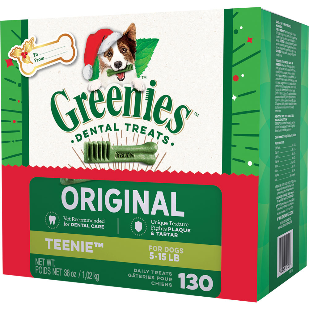 GREENIES Dental Chews Value Size - TEENIE 36 oz (130 chews)