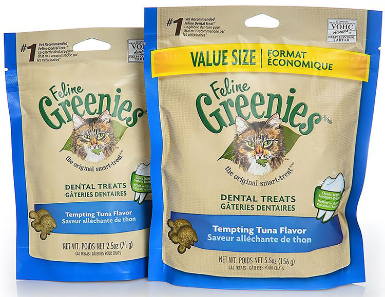 Greenies Feline Tempting Tuna Flavor