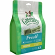 GREENIES Freshmint Treat-Pak - TEENIE 43 Treats (12 oz)