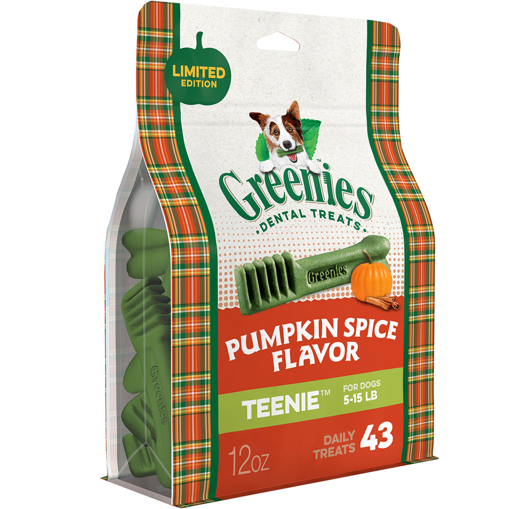 GREENIES Pumpkin Spice Flavor - TEENIE (43 count)