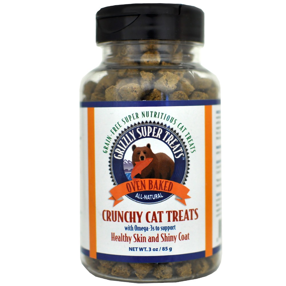 Grizzly Cat Treats with Omega-3s