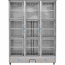 Groomer's Best 9 Unit Cage Bank