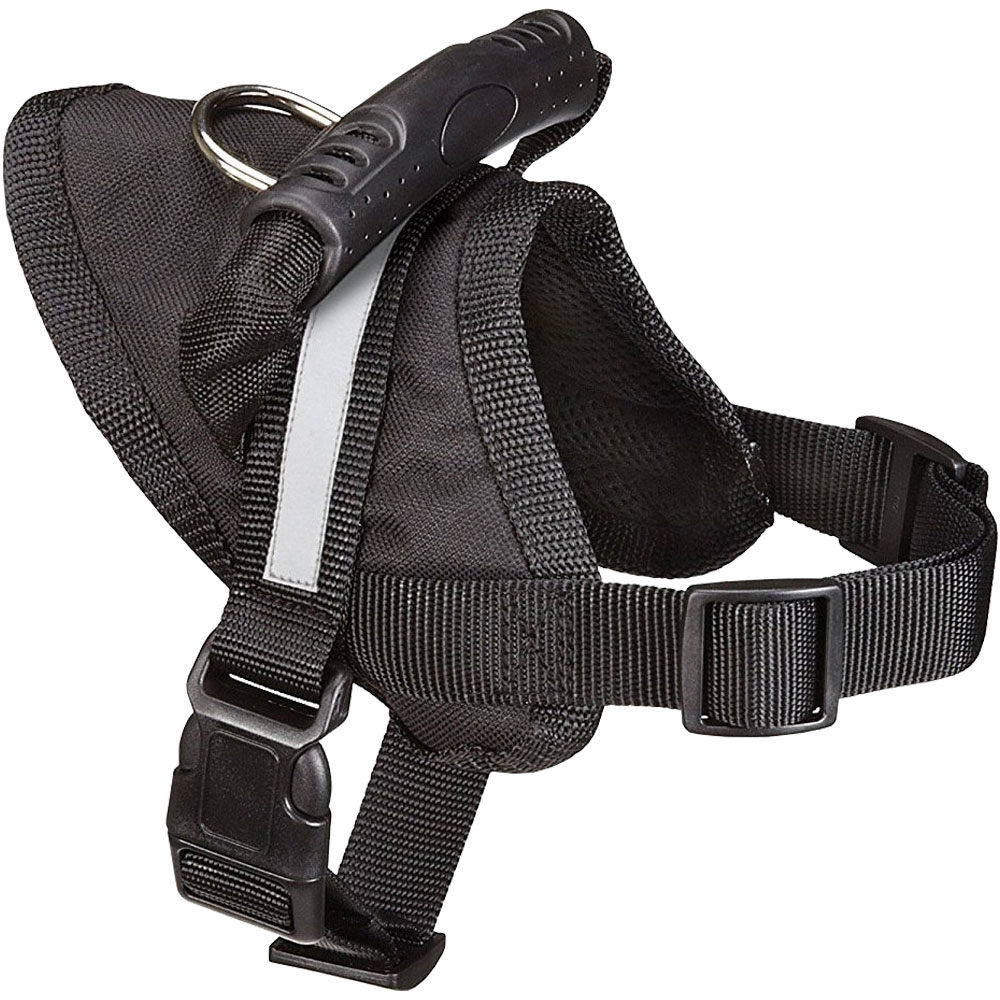 Guardian Gear Excursion Dog Harness - Black (15-19In)