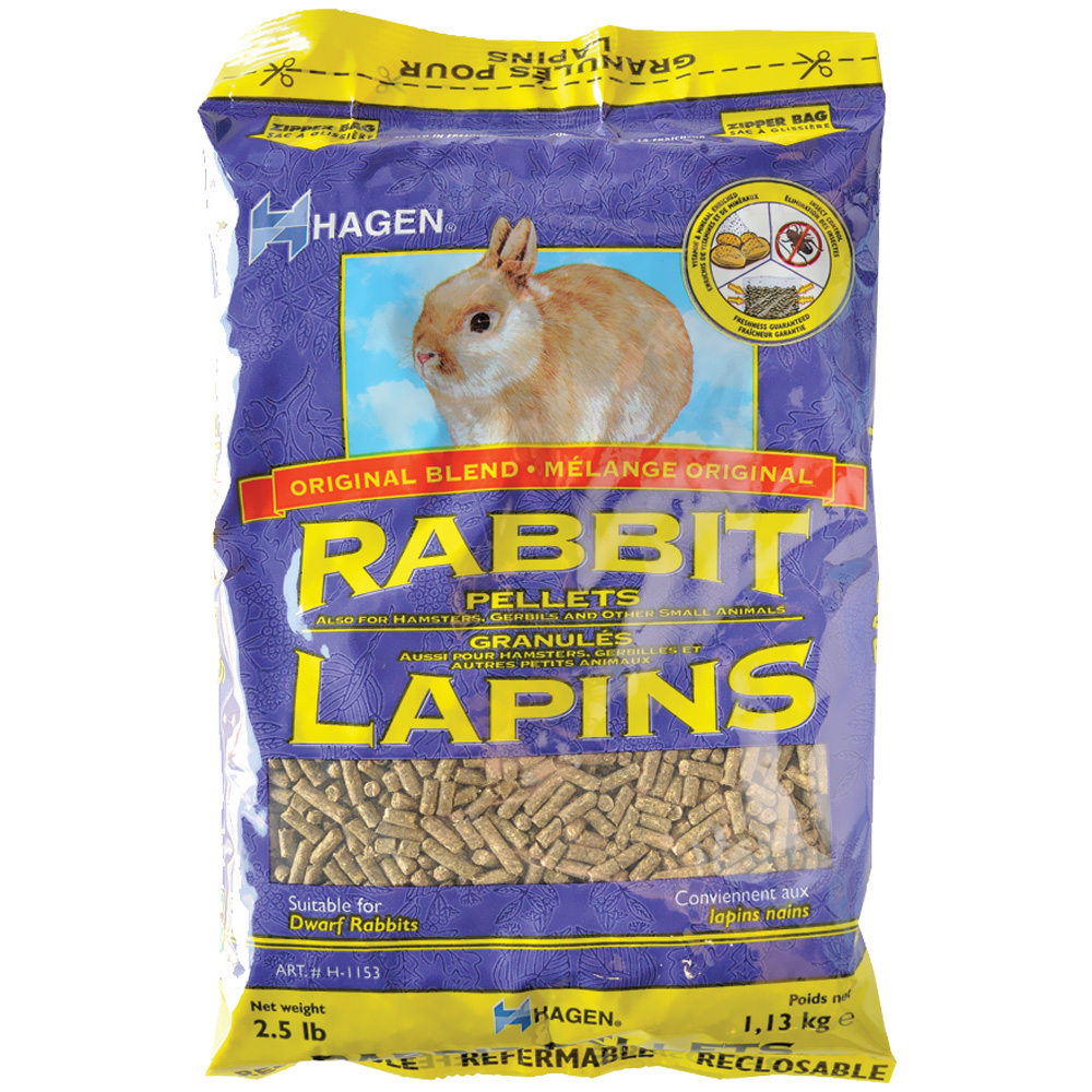 Hagen Rabbit Pellets (2.5 lb)