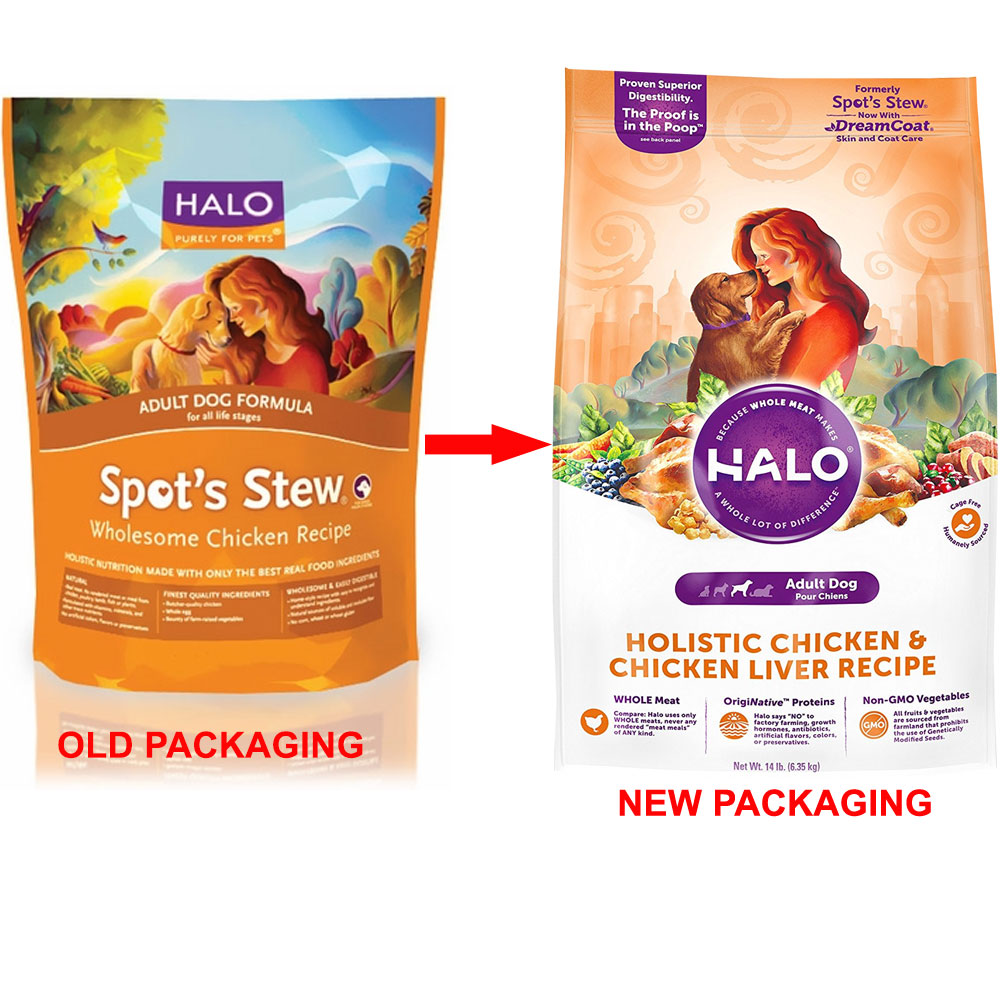 Halo spots stew wholesome chicken dry adult dog food 15 lb forumfinder Gallery