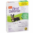 Hartz First Defense Flea & Tick for Dogs - Under 23 lbs