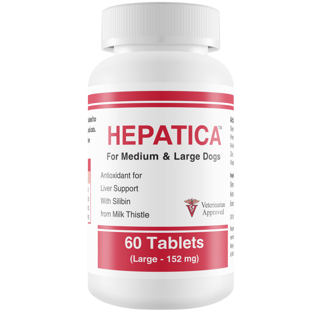Hepatica for Medium & Large Dogs (60 Tablets)