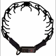 """Herm Sprenger Stainless Steel Prong Training Collar with Security Buckle 21"""" - 3.2mm (Black)"""
