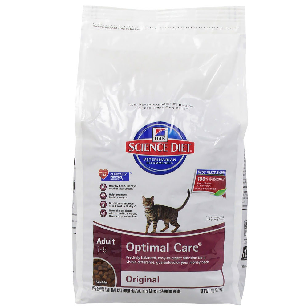Hill s Science Diet Feline Adult Optimal Care Original
