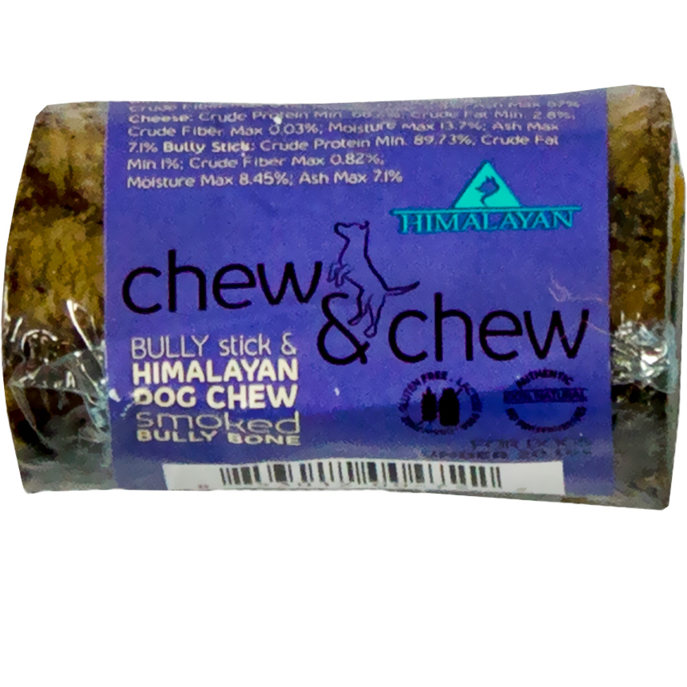 Himalayan Dog Chew - Chew & Chew Smoked Bully Bone - Small (1 Piece)