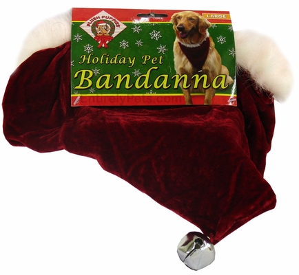 Holiday Pet Bandanna - LARGE