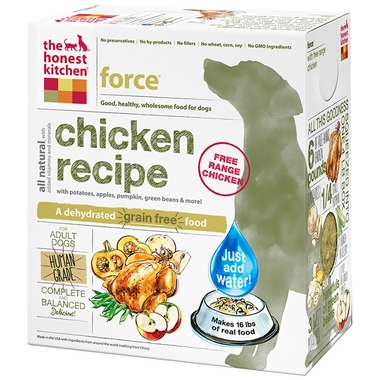 The Honest Kitchen Force Grain Free Dehydrated Dog Food Chicken