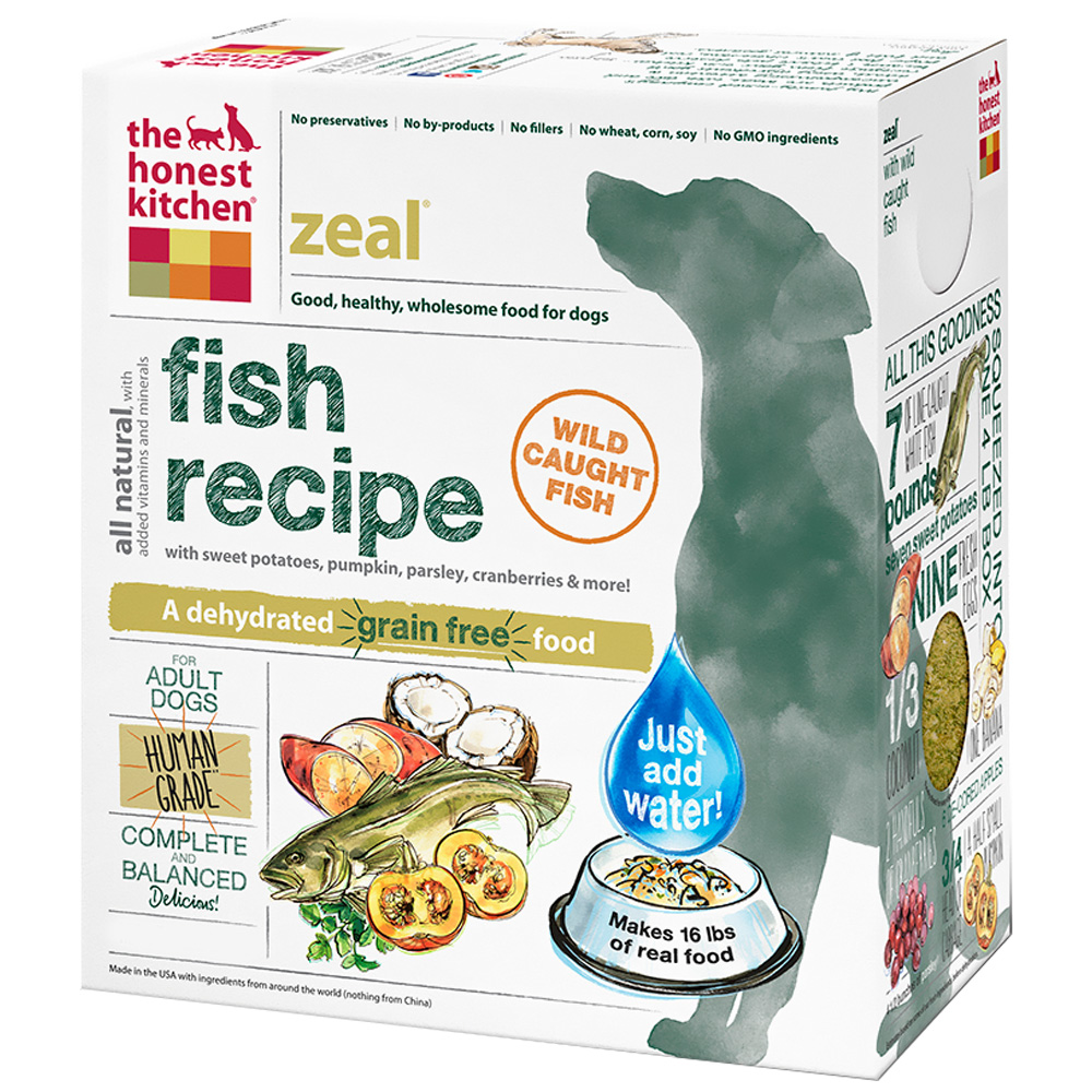 The Honest Kitchen Zeal Grain Free Dehydrated Dog Food Reviews