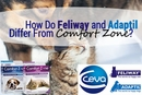 How Do Feliway and Adaptil Differ from Comfort Zone with Feliway and Comfort Zone with D.A.P.?