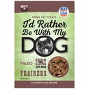 I'd Rather Be With My Dog Paleo - Chicken Chia Trainers (5 oz)
