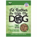 I'd Rather Be With My Dog Paleo - Lamb & Sweet Potato Trainers (5 oz)