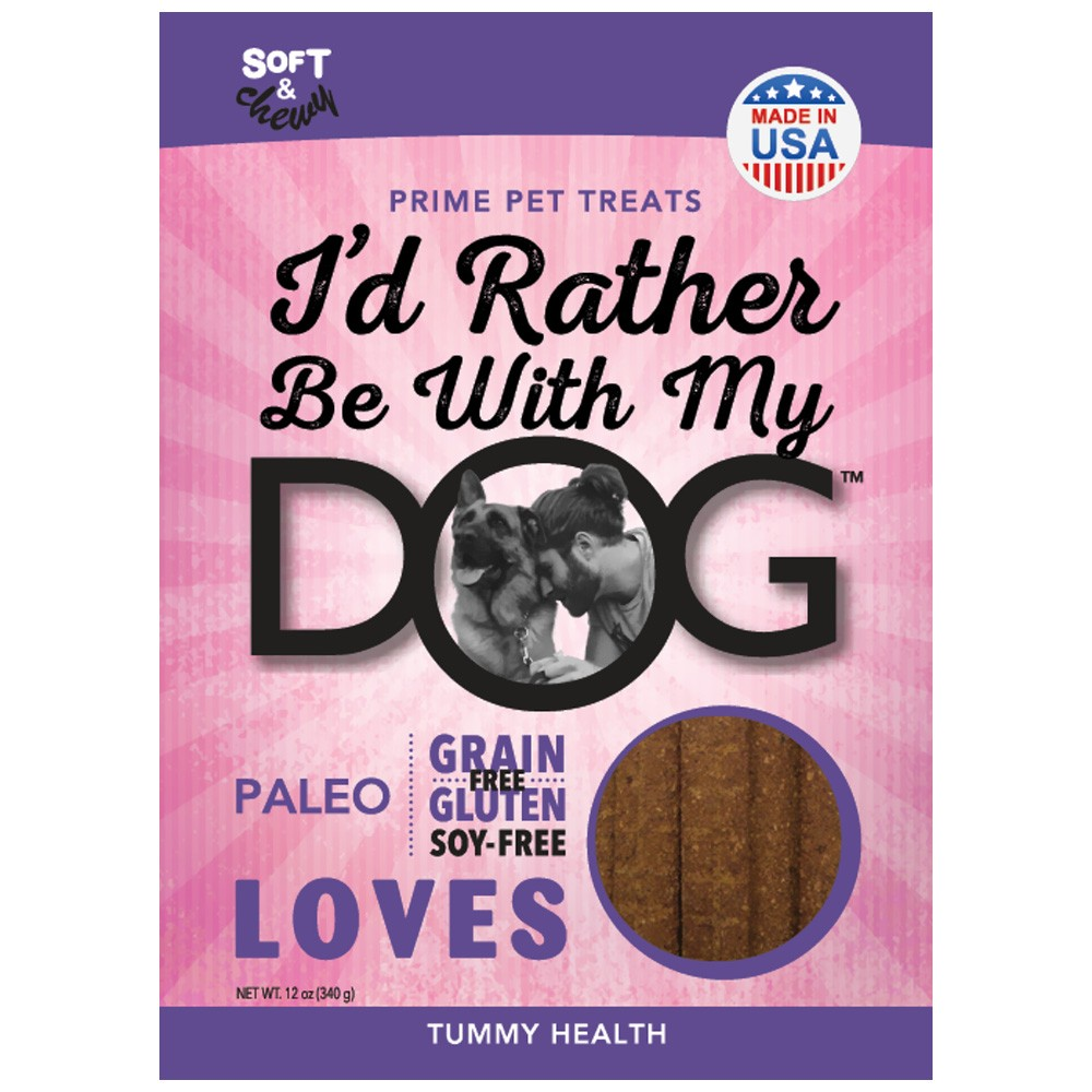 I'd Rather Be With My Dog™ Paleo Dog Treats - Tummy Love