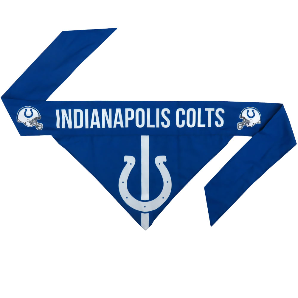 Indianapolis Colts Dog Bandana - Tie On (Large)