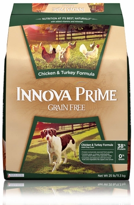 Innova Prime Chicken & Turkey Dry Dog Food (25 lb)