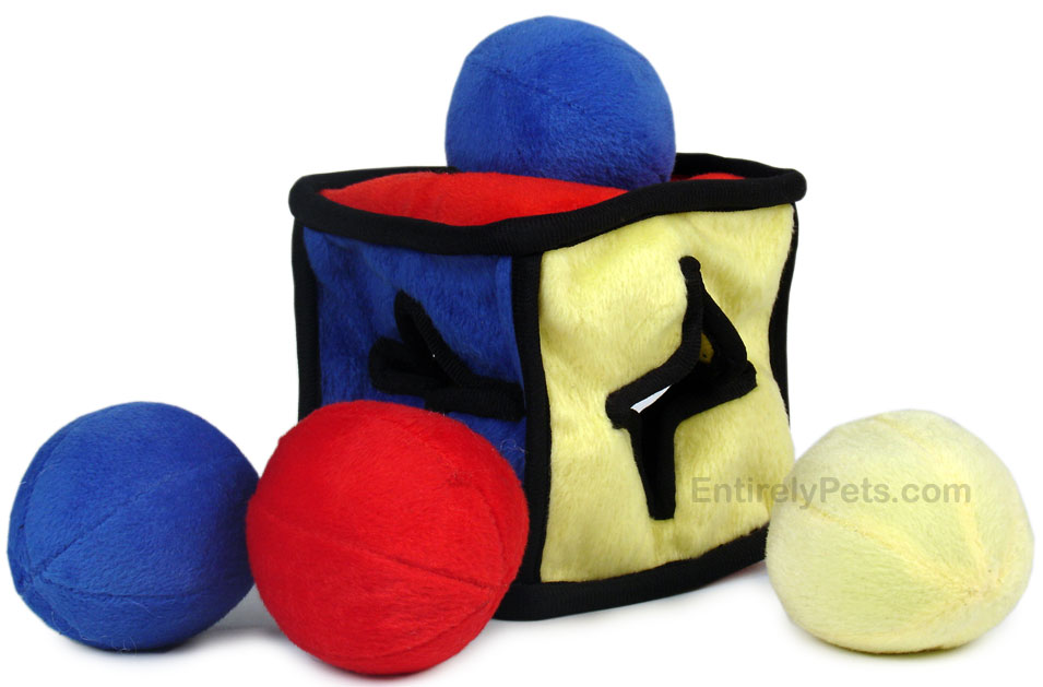 IQube Puzzle Plush Dog Toy - JUNIOR