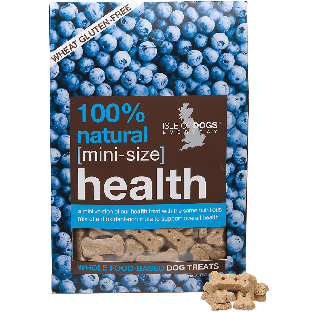 Isle of Dogs 100% Natural Health Dog Treats - Mini Size (12 oz)