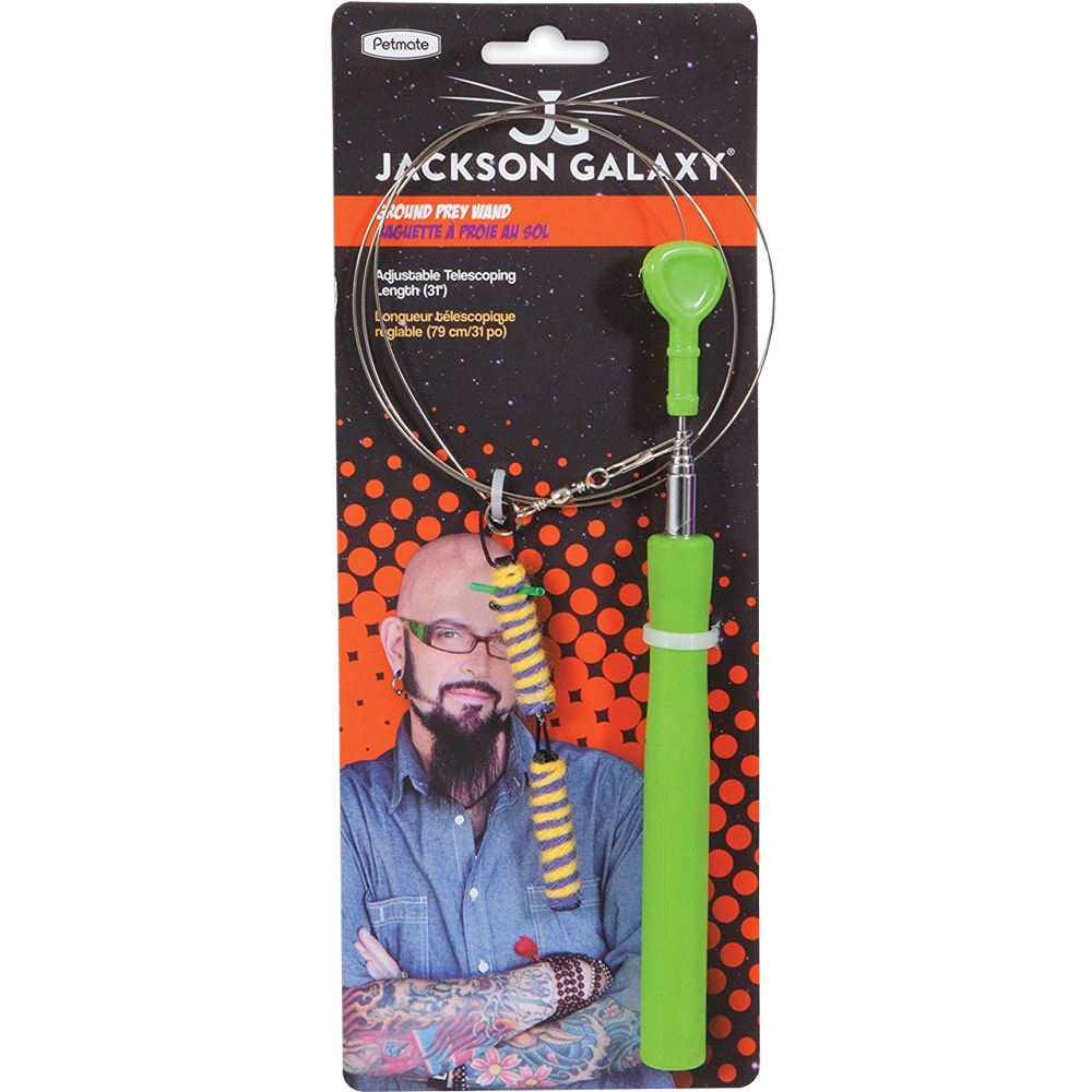 Jackson galaxy wand cat toy for Galaxy toys