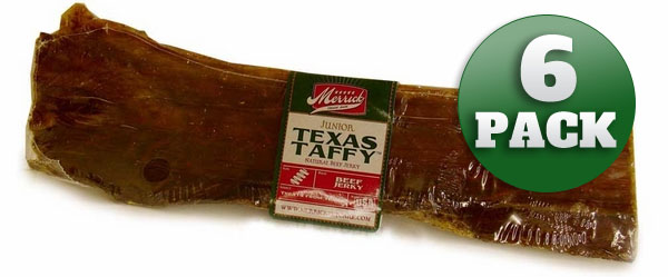 "Junior Texas Taffy (10-12"" each) 6 PACK"