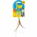 JW Pet Cataction Mouse with Feather Tail