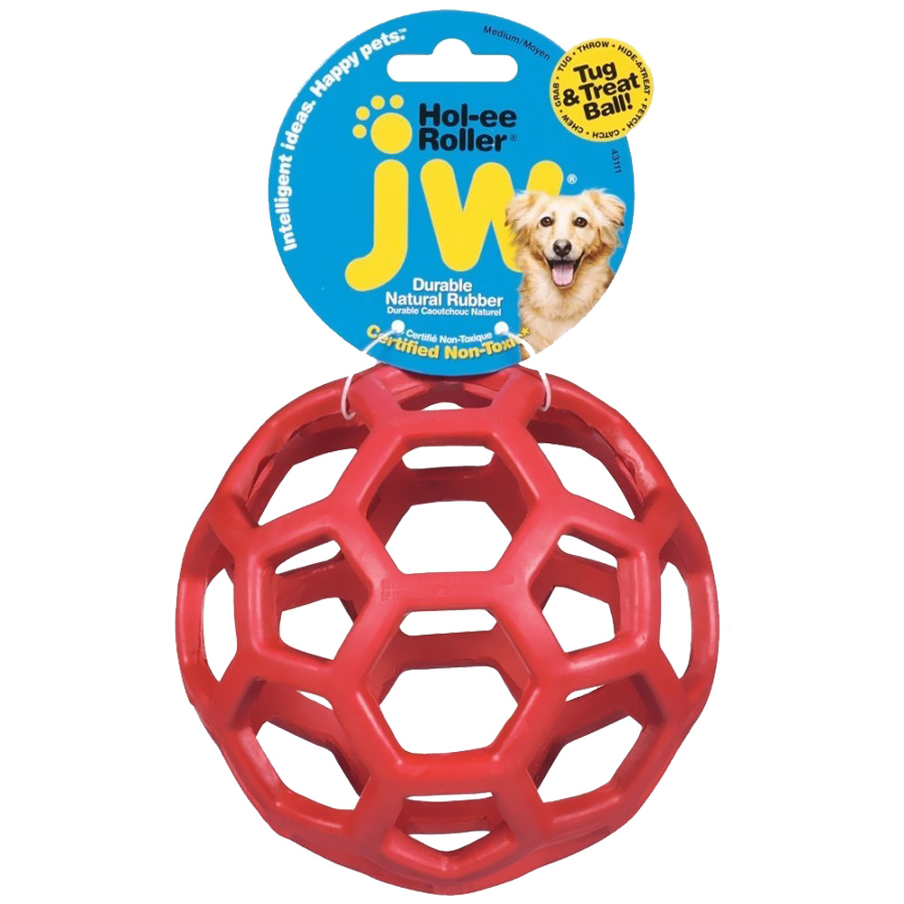 JW Pet Hol-ee Roller - Size 6.5 (Assorted)