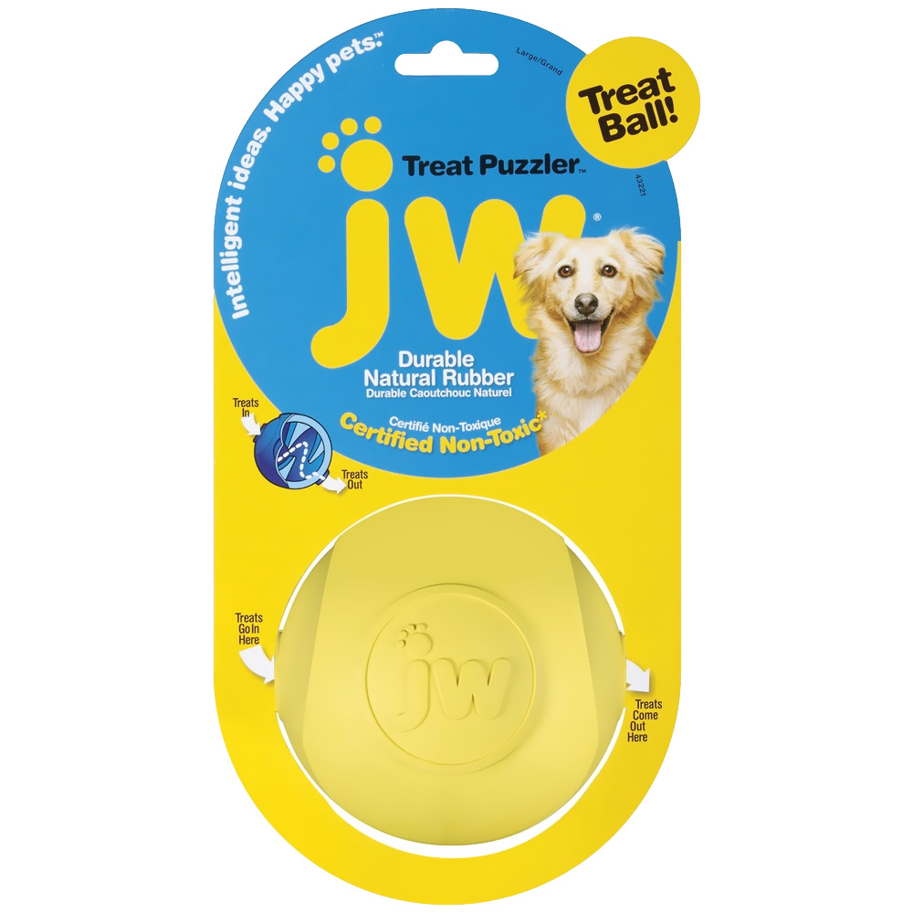 JW Treat Puzzler Treat Ball - Large