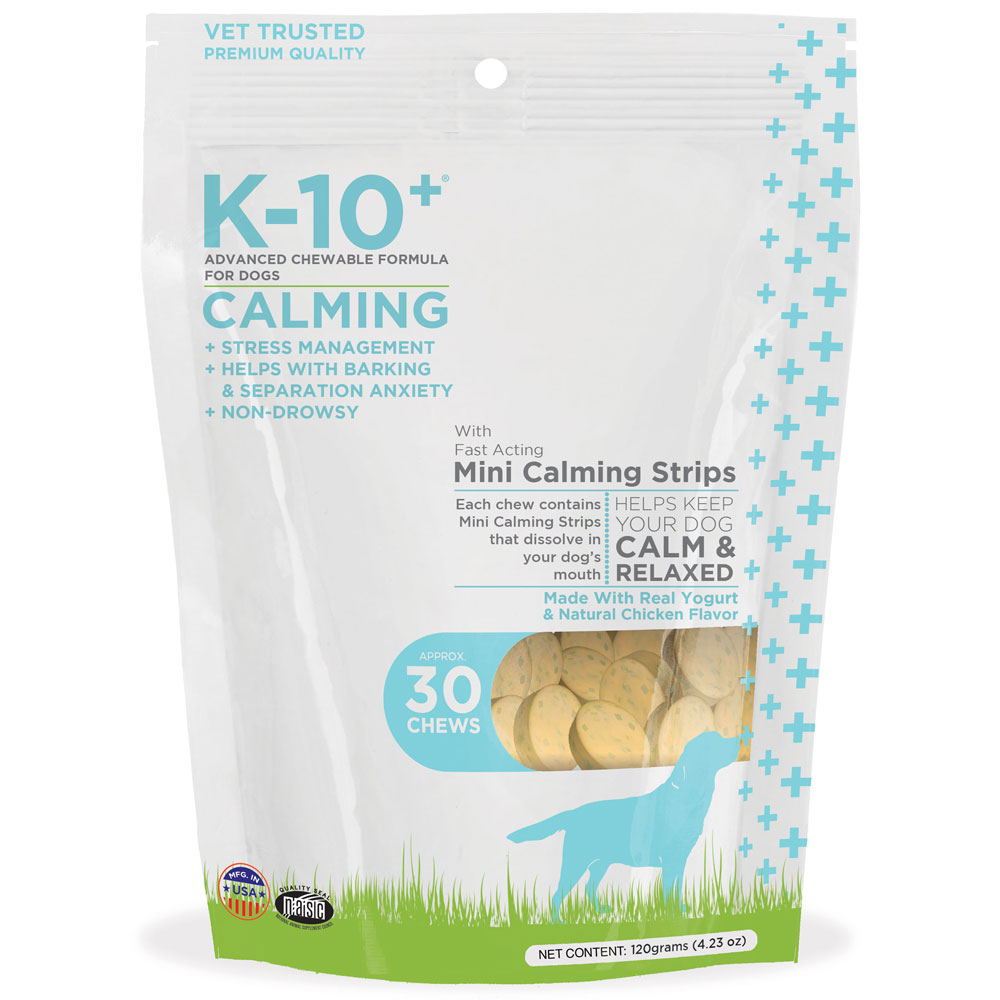 K-10+ Mini Calming Strips (30 Chews)