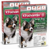 K9 Advantix II for Dogs: Flea & Tick Control