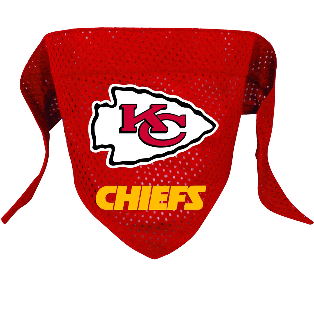 Kansas City Chiefs Dog Bandanas