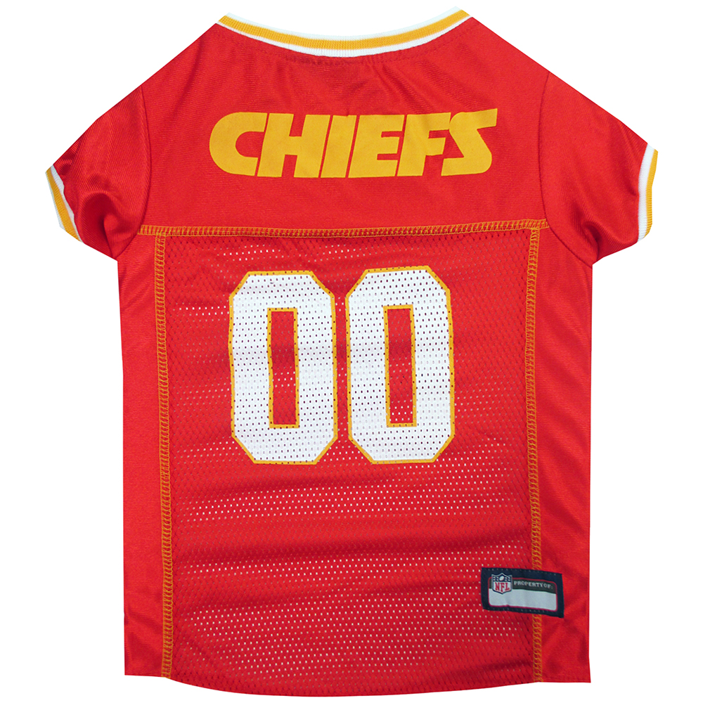 Kansas City Chiefs Dog Jerseys
