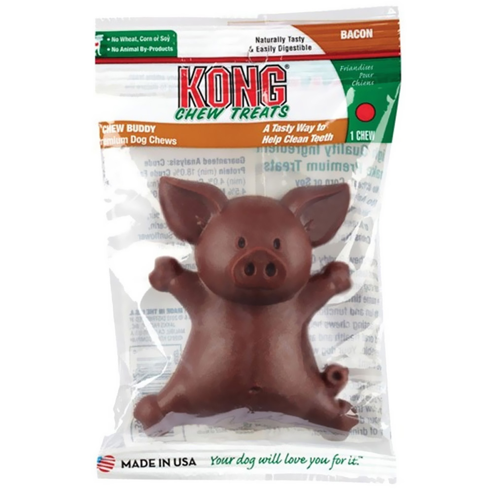 KONG Chew Buddies Small - Bacon