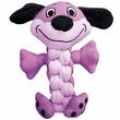 KONG Pudge Braidz Dog Toy - Medium/Large