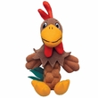 KONG Pudge BraidZ Rooster Dog Toy - Medium/Large