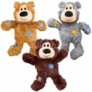 KONG Wild Knots Squeaker Bears Dog Toys - Small/Medium (Assorted)