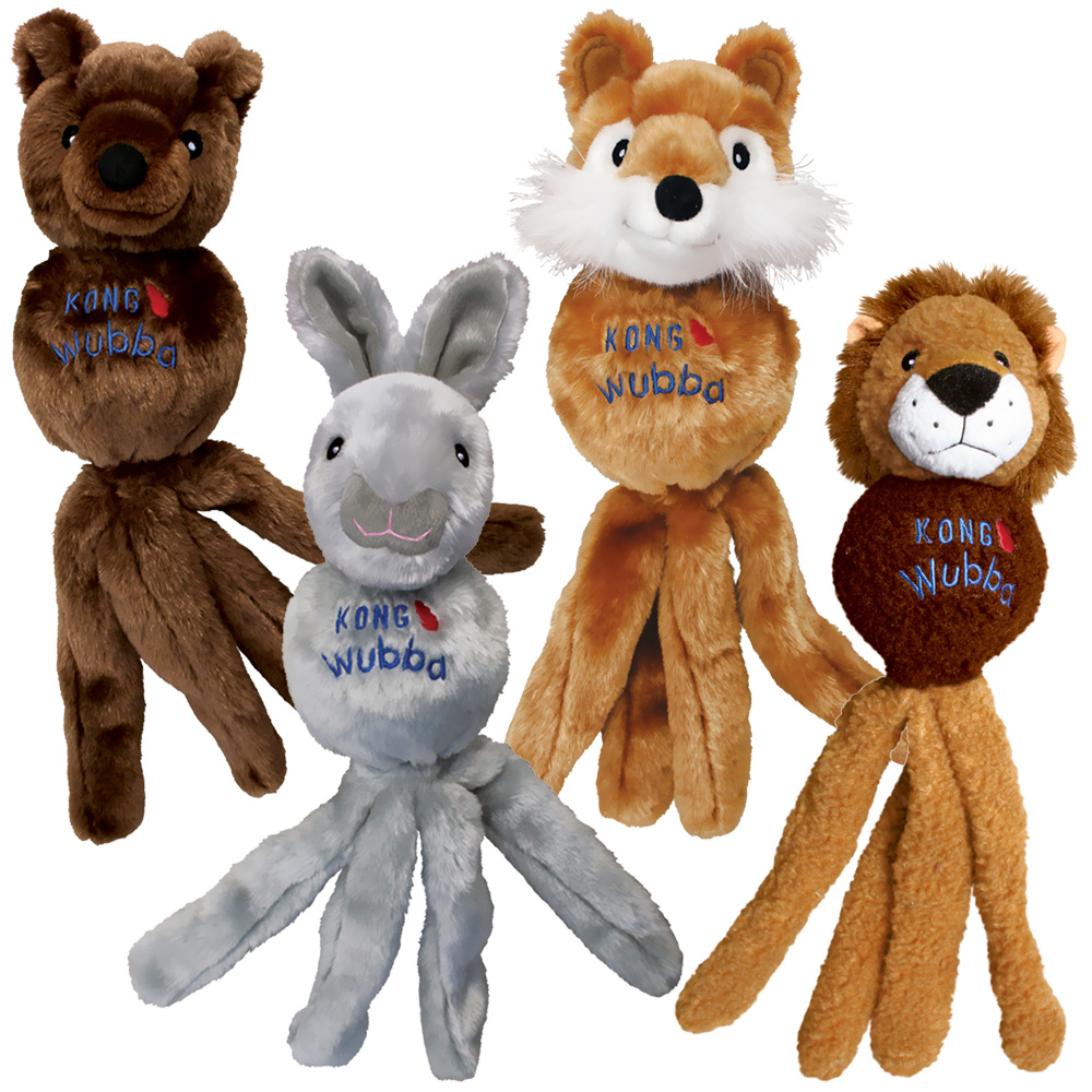 Kong Wubba Friend for Dogs Large (Assorted)