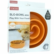 Kyjen Dog Games Slo-Bowl Mini - Coral Orange