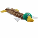 Kyjen Long Body Squeaker Mat - Large Mallard