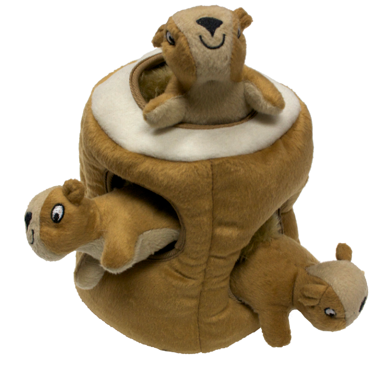 Kyjen Plush Puppies Hide-A-Squirrel BF