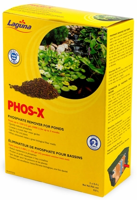 Laguna Phos-X Phosphate Remover for Ponds (2 Pack)