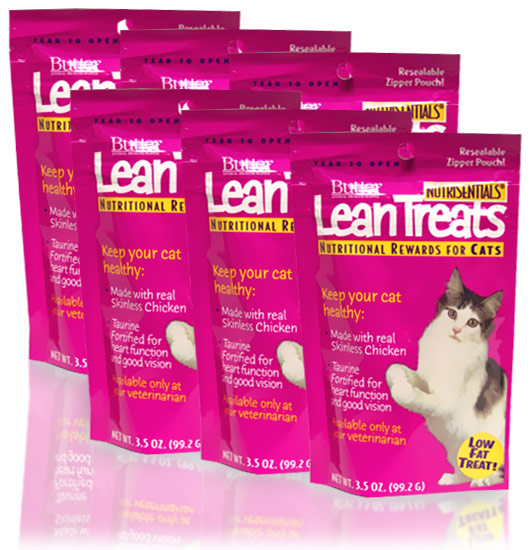 Lean Treats for CATS 6-PACK (1.3 lbs)