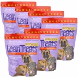 Lean Treats - Nutritional Rewards for LARGE BREED DOGS 6-PACK (3.75 lbs)